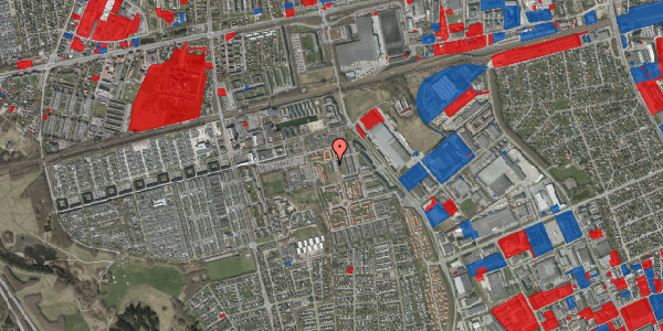 Jordforureningskort på Hvidkløvervænget 10, 2625 Vallensbæk