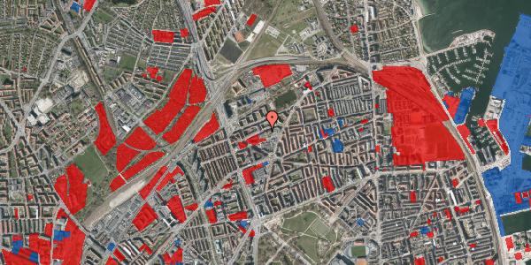 Jordforureningskort på Venøgade 24, 1. th, 2100 København Ø