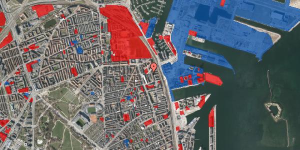 Jordforureningskort på Vordingborggade 88, 2100 København Ø