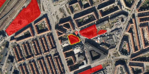 Jordforureningskort på Æbeløgade 13, 3. , 2100 København Ø