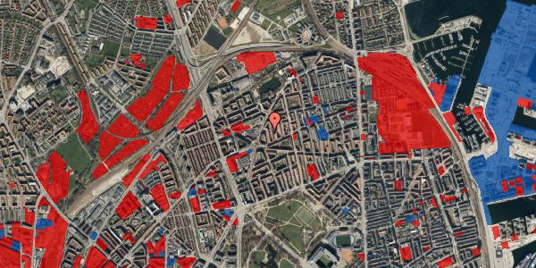 Jordforureningskort på Victor Bendix Gade 10, 4. , 2100 København Ø