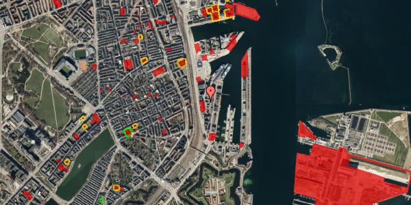Jordforureningskort på Amerika Plads 16, 5. th, 2100 København Ø