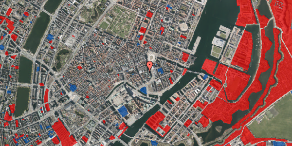 Jordforureningskort på Vingårdstræde 3, 4. , 1070 København K