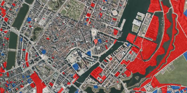 Jordforureningskort på Holmens Kanal 10B, 1060 København K