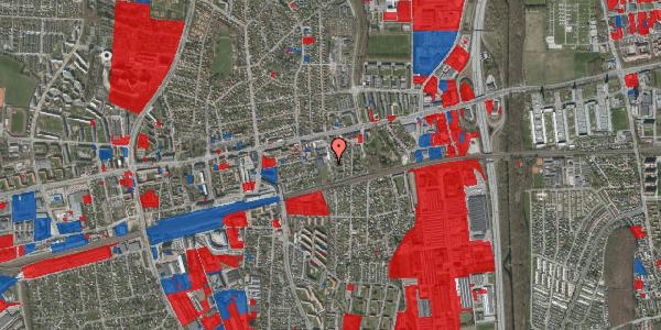 Jordforureningskort på Florasvej 2B, 2600 Glostrup
