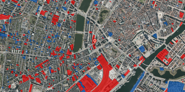 Jordforureningskort på Vester Farimagsgade 6, 1. 1038, 1606 København V