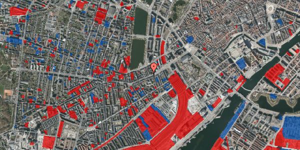Jordforureningskort på Vesterbrogade 16, 1620 København V
