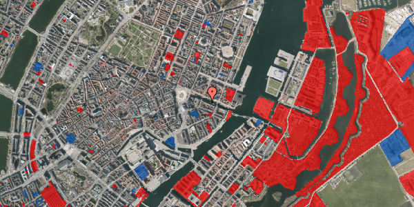 Jordforureningskort på Nyhavn 12, 1. , 1051 København K