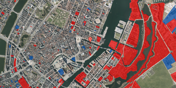Jordforureningskort på Nyhavn 12D, 3. tv, 1051 København K
