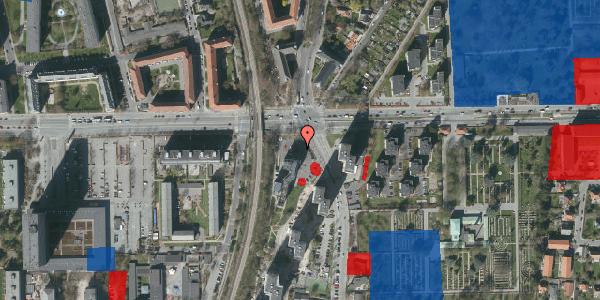 Jordforureningskort på Roskildevej 69, 2000 Frederiksberg