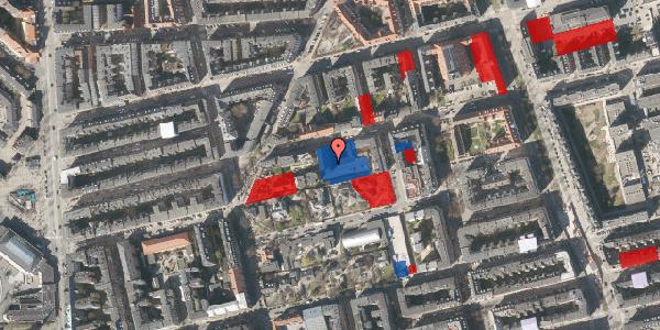 Jordforureningskort på Viborggade 70C, 1. , 2100 København Ø