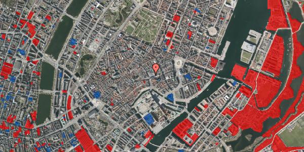 Jordforureningskort på Østergade 56, 1100 København K