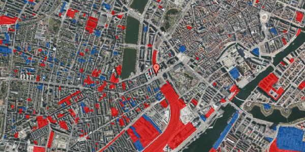 Jordforureningskort på Vester Farimagsgade 1, 3. , 1606 København V