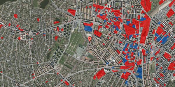 Jordforureningskort på Hulgårdsvej 105, 2400 København NV