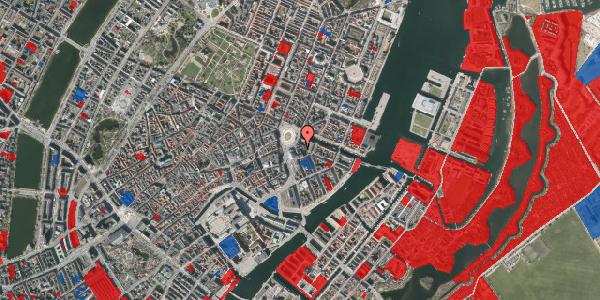 Jordforureningskort på August Bournonvilles Passage 1B, 1055 København K
