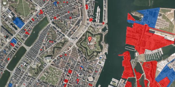 Jordforureningskort på Kastellet 50, 2100 København Ø