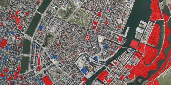 Jordforureningskort på Silkegade 8, 1113 København K