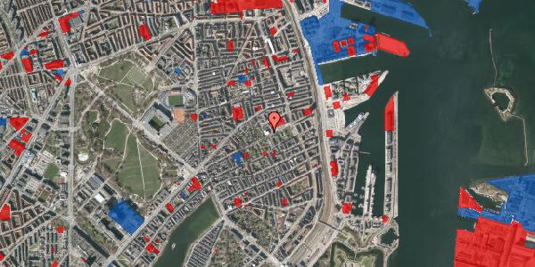 Jordforureningskort på Rosenvængets Hovedvej 33, 2. , 2100 København Ø