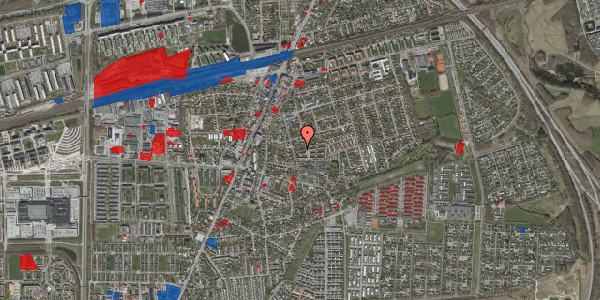 Jordforureningskort på Elme Alle 42D, 2630 Taastrup