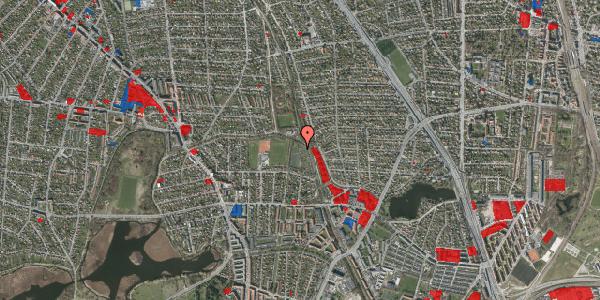 Jordforureningskort på Rødhalsgangen 20, 2400 København NV