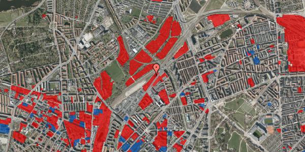 Jordforureningskort på Rovsingsgade 62B, 2100 København Ø