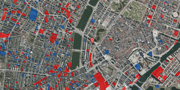 Jordforureningskort på Vester Farimagsgade 37B, 3. 3, 1606 København V