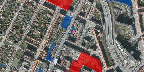 Jordforureningskort på Nitivej 3A, 1. , 2000 Frederiksberg