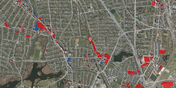 Jordforureningskort på Rødhalsgangen 25, 2400 København NV