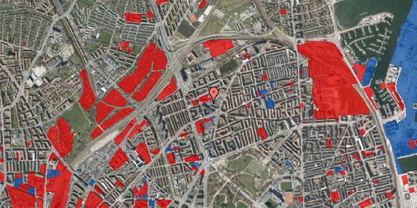 Jordforureningskort på Æbeløgade 6, 2100 København Ø