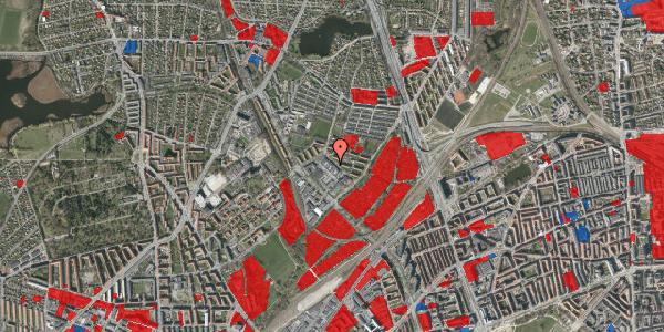 Jordforureningskort på Fruebjergvej 3, 2100 København Ø