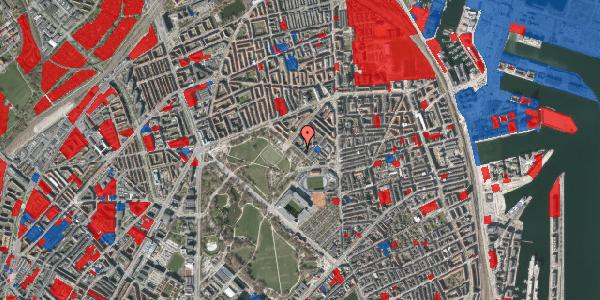 Jordforureningskort på Serridslevvej 14A, kl. , 2100 København Ø