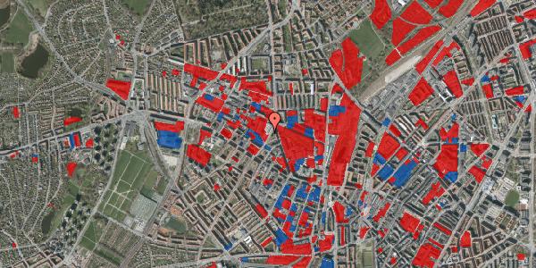 Jordforureningskort på Glasvej 21, 2400 København NV