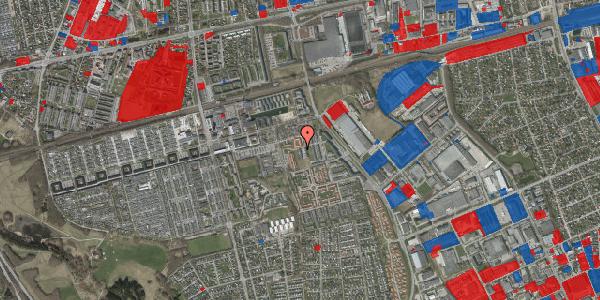 Jordforureningskort på Hvidkløvervænget 4, 2625 Vallensbæk