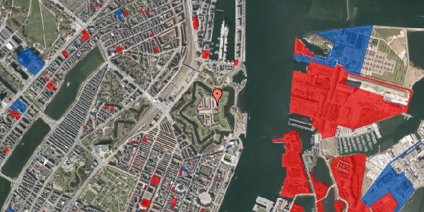 Jordforureningskort på Kastellet 104, 2100 København Ø