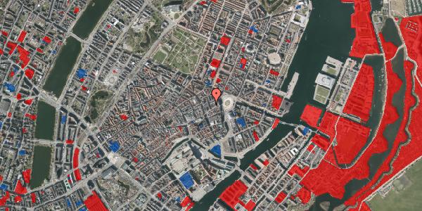 Jordforureningskort på Ny Østergade 4, 3. , 1101 København K