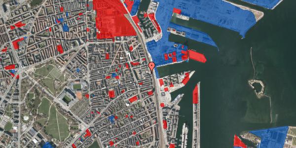 Jordforureningskort på Østbanegade 127, 2100 København Ø