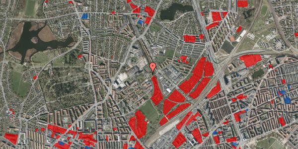 Jordforureningskort på Bispebjerg Bakke 30, 2400 København NV