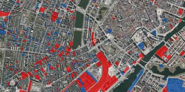 Jordforureningskort på Vester Farimagsgade 4, 5. , 1606 København V