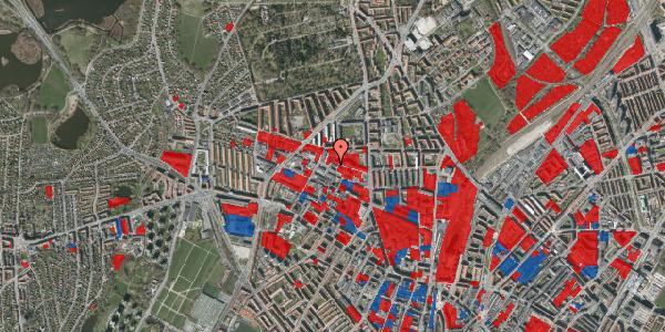 Jordforureningskort på Dortheavej 13, st. , 2400 København NV