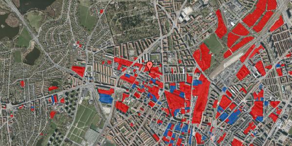 Jordforureningskort på Dortheavej 17, 1. 8, 2400 København NV