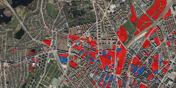 Jordforureningskort på Dortheavej 17, 1. 7, 2400 København NV