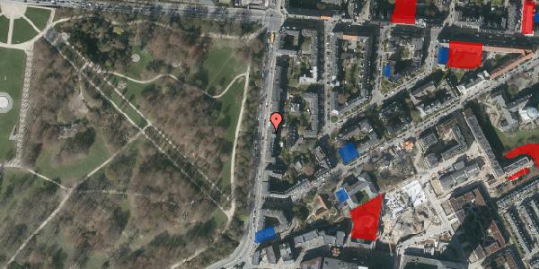 Jordforureningskort på Pile Alle 33, 3. mf, 2000 Frederiksberg