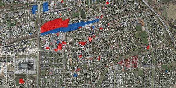 Jordforureningskort på Taastrup Hovedgade 111A, 2. 6, 2630 Taastrup