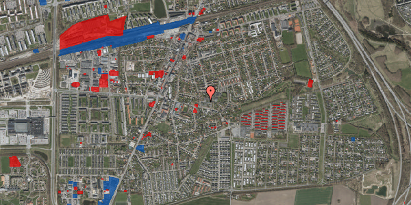 Jordforureningskort på Valbyvej 47B, st. 22, 2630 Taastrup