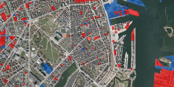 Jordforureningskort på A.L. Drewsens Vej 1B, 2100 København Ø
