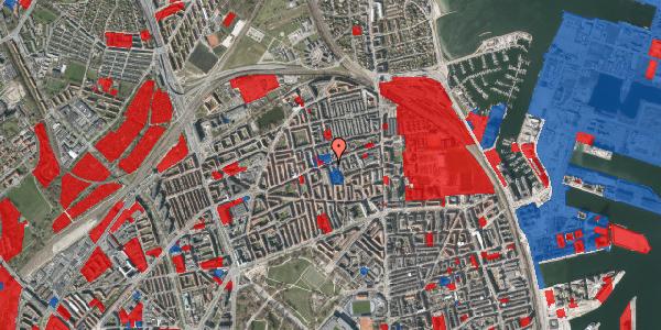 Jordforureningskort på Nygårdsvej 27, st. , 2100 København Ø