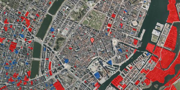 Jordforureningskort på Løvstræde 3B, 1152 København K