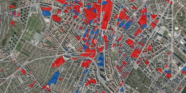 Jordforureningskort på Glentevej 10, st. 1, 2400 København NV