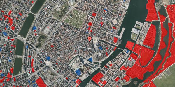 Jordforureningskort på Østergade 24, st. tv, 1100 København K