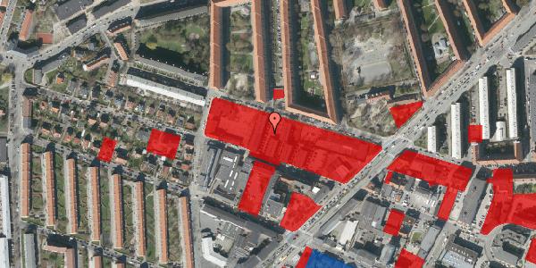 Jordforureningskort på Dortheavej 40, 1. 2, 2400 København NV